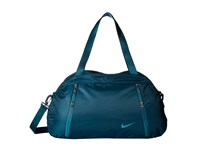 Nike Auralux Club Solid Midnight Turquoise Midnight Turquoise Rio Teal Duffel Bags Blue