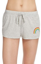 Women's Junk Food 'Rainbow' Graphic Lounge Shorts