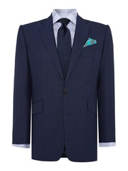 Chester Barrie New Albemarle Tropical Worsted Suit Blue