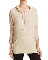 Michelle By Comune Drawstring Hoodie Taupe