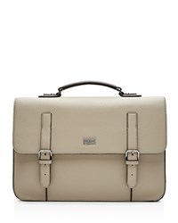Ted Baker Fredim Pebble Grain Briefcase Natural