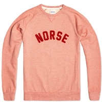 Norse Projects Ketel Logo Sweat Ember