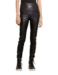 Lauren Ralph Lauren Faux Leather Leggings Black