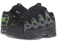 Osiris D3 2001 Black Green Charcoal Men's Skate Shoes