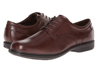 Nunn Bush Baker St. Plain Toe Oxford Brown Men's Plain Toe Shoes