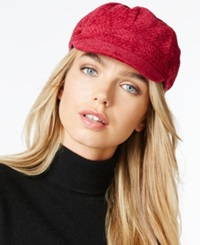 Charter Club Chenille Newsboy Hat Only At Macy's Red