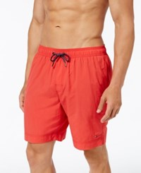 Tommy Hilfiger Men's Swim Trunks Poinsettia