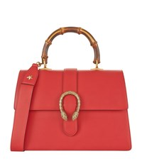 Gucci Dionysus Bamboo Top Handle Bag Female Hibiscus