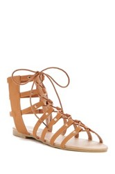 Anna Footwear Roman Gladiator Sandal Brown