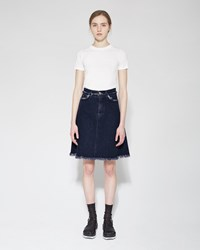 Acne Studios Gisella Denim Skirt Black Vintage