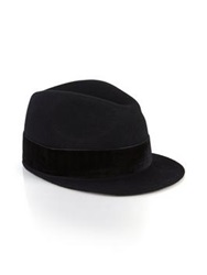 Paul Smith Black Peaked Hat Black