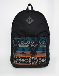 New Look Patterned Pocket Backpack Multicoloured