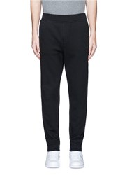 Alexander Wang Vintage Fleece Zip Fly Sweatpants Black