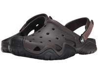 Crocs Swiftwater Camp Clog Espresso Black Men's Shoes Brown