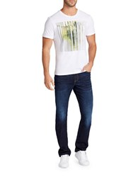 William Rast Graphic Cotton Tee White