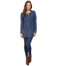 Rebecca Taylor Boucle Tweed Pullover Bluemarine Women's Long Sleeve Pullover