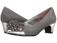 J. Renee Rashana Silver Women's Slip On Dress Shoes