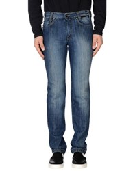 Betwoin Denim Denim Trousers Men Blue