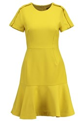 Banana Republic Summer Dress Bright Celery Yellow