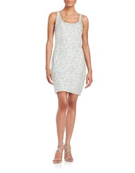Guess Sequined Tank Dress Grey