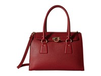Salvatore Ferragamo 21F293 Lotty Opera Satchel Handbags Red