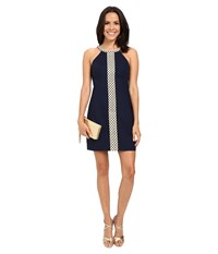 Lilly Pulitzer Sasha Shift Dress True Navy Women's Dress
