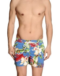 Franklin And Marshall Swimming Trunks Light Green