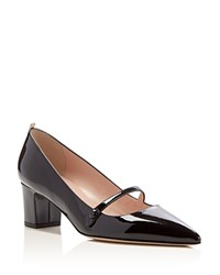 Sjp By Sarah Jessica Parker Dame Pointed Toe Mary Jane Pumps Black