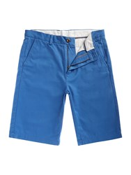 Linea Chino Shorts Energy Blue