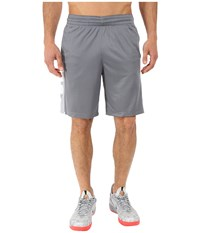 Nike Elite Stripe Short Cool Grey White Black White Men's Shorts Gray