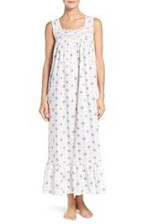 Eileen West Women's Floral Cotton Ballet Nightgown