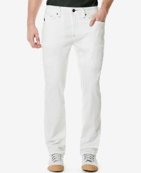 Buffalo David Bitton Men's Evan X Skinny Fit Jeans Authentic And Soft White