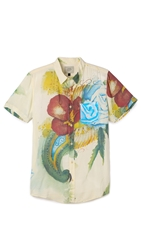 Deus Ex Machina Belbin Watercolor Shirt White