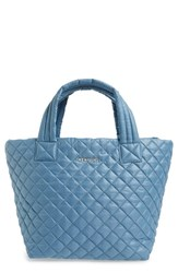 M Z Wallace Mz Wallace 'Small Metro' Quilted Oxford Nylon Tote Blue