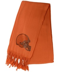 Little Earth Women's Cleveland Browns Pashi Fan Scarf Orange