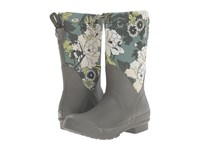Sakroots Mezzo Olive Flower Power Women's Pull On Boots Brown