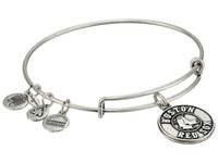 Alex And Ani Mlb Boston Red Sox Charm Bangle Rafaelian Silver Finish Primary Logo Bracelet