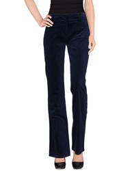 Roccobarocco Trousers Casual Trousers Women Dark Blue