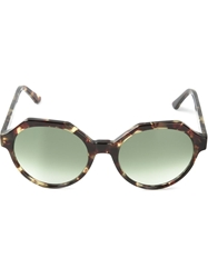 Kyme 'Mary' Sunglasses Brown