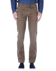 Take Two Trousers Casual Trousers Men Khaki