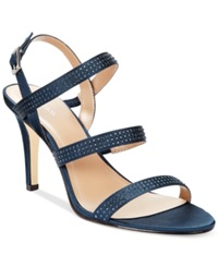 Style And Co. Urey Evening Sandals Women's Shoes Blue Depths