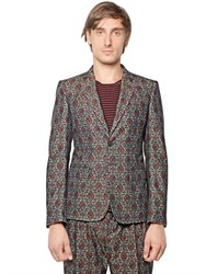 Andrea Pompilio Cotton Twill Ethnic Jacket