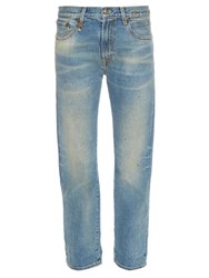 R 13 Bowie Straight Leg Jeans Denim