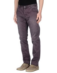 Gaudi' Casual Pants Deep Purple