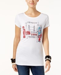 Inc International Concepts London Graphic T Shirt Only At Macy's