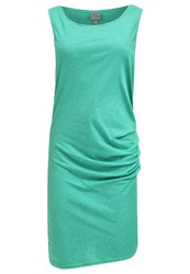 Bench Distinction Jersey Dress Viridis Marl Mottled Teal