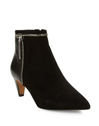French Connection Kordelle Suede Booties Black