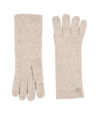 Ugg Luxe Smart Gloves Natural Heather Extreme Cold Weather Gloves Beige