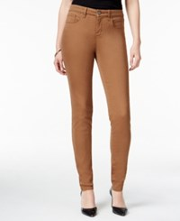 Styleandco. Style And Co. Curvy Fit Skinny Leg Colored Jeans Only At Macy's Tobacco