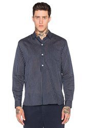 Our Legacy Fine Overshirt Navy
